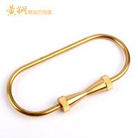 黄铜钥匙扣钥匙圈复古钥匙扣创意男女汽车钥匙扣大容量钥匙圈