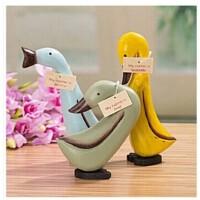群鸭嬉戏道具木质摆件创意家居摆设新款儿童摄影韩式道具小鸭子