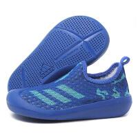 adidas阿迪达斯童鞋2018男女婴童0-4岁透气低帮休闲涉水鞋CM7185