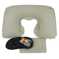 户外旅游U型枕充气枕头睡枕 旅行枕U形便携 飞机护颈枕 旅行三宝颈枕
