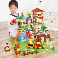 兼容乐高积木城市6拼装8女孩7男孩子3儿童玩具4益智力1-2周岁10