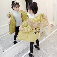 2018韩版厚款儿童冬季棉袄外套女孩