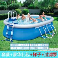 加厚充气游泳池家用婴儿童宝宝超大号小孩家庭水上乐园戏水池