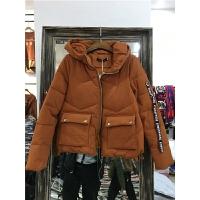 U4棉衣女宽松韩版 学生外套冬装面包 时尚气质可爱小棉袄0.65