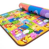迪士尼婴儿爬行垫 双面加厚宝宝爬爬垫儿童防滑地毯家用客厅卧室 200*180*2.0CM