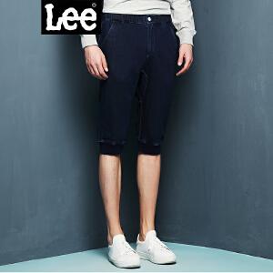 Lee男装 商场同款2018新品束脚休闲裤短裤潮 L246286944LC