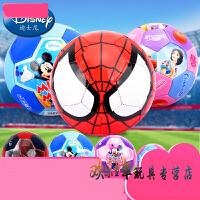 蜘蛛侠儿童足球玩具2号3号幼儿园PVC皮球迪士尼男女学生球类玩具
