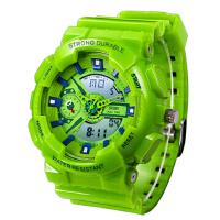 女士潮流LED电子表 户外防水运动男表中学生青少年时尚手表儿童手表