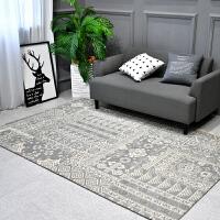 家纺北欧几何地毯简约现代卧室客厅满铺地垫茶几沙发书房长方形