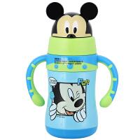 迪士尼儿童保温杯保冷杯 双手柄宝宝水杯学饮杯