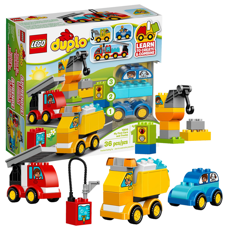 【当当自营】LEGO乐高我的汽车与卡车套装 10816材质安全妈妈放心