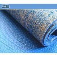 20180407055441596亚麻初学者瑜伽垫防滑健身垫运动垫子无味 5mm(型)