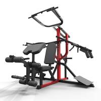 三站位综合力量训练站 组合家用健身器材