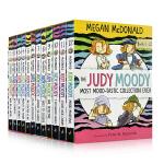 顺丰发货 英文原版进口 稀奇古怪小朱迪12册盒装 The Judy Moody Most Mood-tastic Co