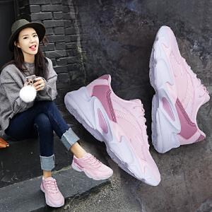 安踏老爹鞋女鞋休闲鞋 官网新款复古国潮跑步鞋ins超火的运动鞋女12818852