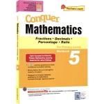 SAP Conquer Mathematics 5 fractions Decimals Percentage Rat