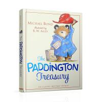 【英文原版】Paddington Treasury 小熊帕丁顿图画书合辑(含6个经典睡前故事,配朗读音频)来自英国的绅士小熊
