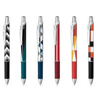 日本派通PentelBLN75猫主题限定款按挚式顺滑速干中性笔0.5mm