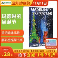 美国进口 玛德琳的圣诞节 Madeline's Christmas 韵律儿歌平装廖彩杏书单第49周 第100本
