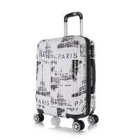 登机箱20寸行李箱女拉杆箱男22万向轮学生密码箱24寸潮个性旅行箱
