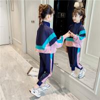 女童套装春装春款时尚中大童休闲时髦运动