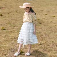 女童套装裙夏装中大童儿童装夏季时尚两件套
