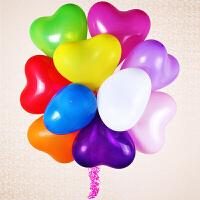装饰摆件克乳胶心形气球圆形马卡龙气球布艺花瓣七夕情人节生日婚礼婚房布置创意浪漫求婚表白结婚氛围装饰