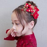 儿童节日演出配饰头花发箍花童婚纱发箍头饰女童头饰公主礼服发饰
