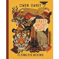 英文原版 Owen Davey 动物科普绘本系列:猫科动物 精装 Crazy about Cats (About An
