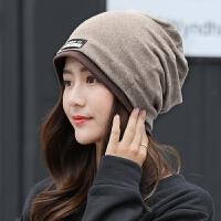 帽子女秋冬包头帽睡帽韩版潮套头帽头巾时尚月子帽产后保暖孕妇帽