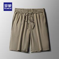 【1.5折价:40元】罗蒙男士2021夏季新款休闲五分裤