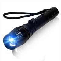 夜间照明手电筒家用充电探照灯强光手电筒户外手电保安手灯远射防水手电