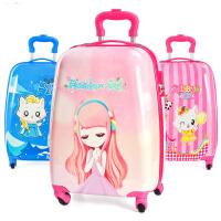 儿童拉杆箱女孩旅行箱18寸19寸公主女生卡通小学生行李箱可坐可骑h4o