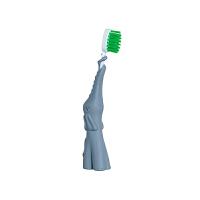 【网易考拉】BABY BANANA香蕉宝宝小象婴儿牙刷 硅胶磨牙棒