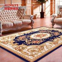 欧式地毯卧室客厅茶几床边地毯满铺北欧红地垫家用简约美式定制