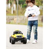 超大号遥控越野车无线赛车小汽车rc充电动3岁5儿童玩具男孩攀爬车