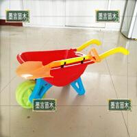 20190905042833087塑料沙滩独轮儿童小推车玩具85cm宝宝玩沙抖音工具带铲手推车