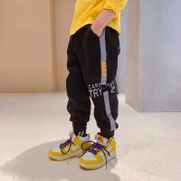 【2件5折】ZOSEE左西童装男童裤子秋款儿童运动裤中大童秋装2020新款洋气潮