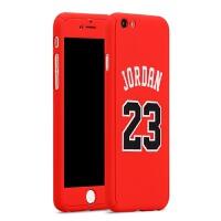 20180402231243011 Plus手机壳 苹果6S篮球飞人 乔丹PC全包前后盖
