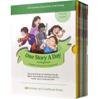 【首页抢券300-100】One Story A Day For Beginners 一天一个故事 初级 365个故事
