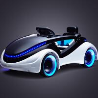 科幻儿童四轮带遥控宝宝可坐玩具车 小孩电动童车汽车电动车