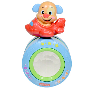 [当当自营]Fisher Price 费雪 小狗皮皮爬行摇摇球双语 婴儿玩具 BDD24
