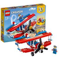 【当当自营】LEGO乐高 创意三合一系列 超胆侠特技飞机 31076 2018 1月新品