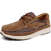 KELME卡尔美 K16X601 男式耐磨防滑休闲鞋 网面拼接时尚系带休闲鞋 户外休闲运动鞋