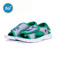 【双12折到手价:59.7】361度 男童沙滩凉鞋 夏季新款N71824651