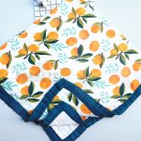 四季款竹纤维纱布宝宝抱被盖毯婴幼儿童夏季空调被新生儿浴巾