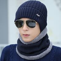 保暖帽子男冬天青年潮毛线帽季男士护耳鸭舌帽包头针织帽