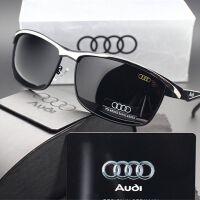 奥迪太阳镜男士开车偏光驾驶眼镜Audi司机镜