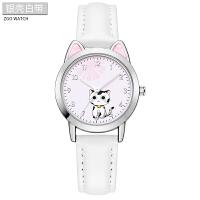 时尚小猫咪手表韩版儿童手表女孩防水女童电子大童小孩小学生可爱公主