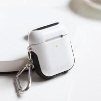 【光面版】苹果Airpods2保护套二代airpods1代壳蓝牙无线耳机硬盒子皮套防丢绳防尘贴纸充电